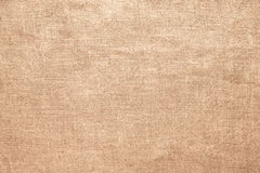 Stary bieliźniany burlap tekstury materiału tło Zdjęcie Royalty Free