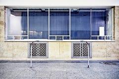 Stary biletowy kontuar Zdjęcie Stock
