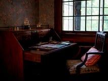 stary biurka writing Obrazy Royalty Free