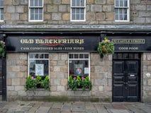 Stary Blackfriars pub, Aberdeen Obrazy Stock