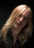 stary blondynkę długie young Obraz Stock