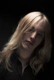stary blondynkę długie young Obraz Royalty Free