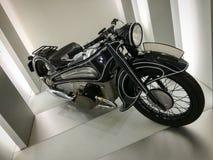 Stary BMW motocykl Obrazy Royalty Free