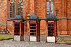 stary booths telefon Zdjęcie Stock