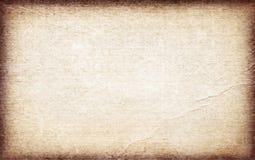 Stary brąz przetwarzający rocznika papieru tło lub tekstura obrazy royalty free