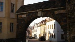 stary bramy miasteczko Obraz Stock