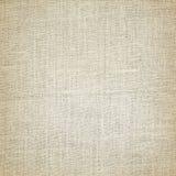 Stary brezentowy tekstury tło i horyzontalnych linii wzór Zdjęcie Stock