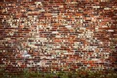 Stary brickwall Obrazy Stock
