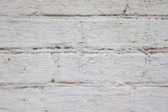 Stary Brickwork Ściana z cegieł Biała krzemian cegła Rozdrabnianie cegła od czasu do czasu obraz stock