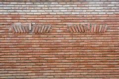 Stary bricky ścienny tło Fotografia Stock