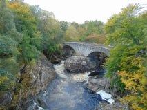 stary bridżowy invermoriston zdjęcie royalty free