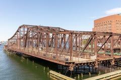 Stary Bridżowy portu morskiego bulwar następnie, przód Massachusetts zatoka, Boston MA fotografia royalty free