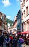 Stary bridżowy Heidelberg, Niemcy Zdjęcie Royalty Free