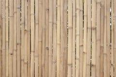 Stary brown bambus dla robi ogrodzeniu, budzie lub ?ciana domowi, zdjęcia royalty free