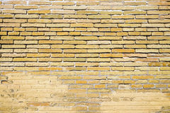 Stary brown brickwall Obraz Stock
