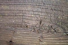 Stary brown nieociosany drewniany tło, drewniana powierzchnia z kopii przestrzenią Deska, tekstura fotografia stock
