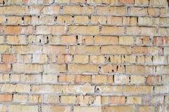 stary brudny, zawalony brickwork, struktura verdure pozyskiwania środowisk gentile Zdjęcia Royalty Free