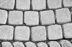Stary bruk szarość kamień Fotografia Royalty Free