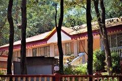 Stary Brytyjski struktura dom w dżungli Obrazy Royalty Free