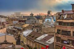 Stary Bucharest Centrum Fotografia Royalty Free