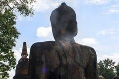 Stary Buddha Fotografia Royalty Free
