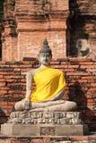 stary Buddha wizerunek Fotografia Royalty Free