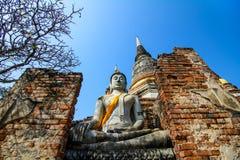 Stary Buddha wizerunek zdjęcia stock