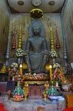 Stary Buddha wizerunek Zdjęcie Royalty Free