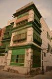 Stary Buduje Windows, historia Jeddah miasto zdjęcie royalty free