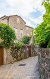 Stary Budva Domy, ulicy i aleje, Montenegro obrazy royalty free