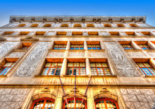 Stary budynek przy Barcelona Obrazy Royalty Free