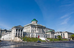 Stary budynek stan Rosyjska biblioteka, Obraz Royalty Free