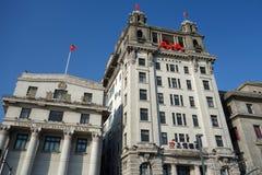 Stary budynek w bund Shanghai Zdjęcia Stock
