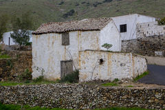 Stary budynek w Fuerteventura wysp kanaryjska Lasu palmas Hiszpania Zdjęcia Royalty Free