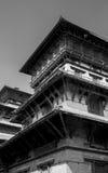 Stary budynek w Kathmandu obraz royalty free