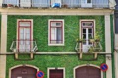 Stary budynek w Lisbon zdjęcie royalty free