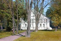 Stary budynek w parku zdjęcie royalty free