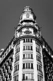 Stary budynek w Walencja śródmieściu zdjęcie stock