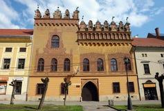 Stary budynek z freskiem Fotografia Stock