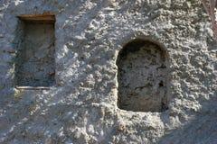 Stary budynku beton zakrywający Zdjęcie Stock