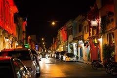Stary budynku chino portugalczyka styl, ulica Phuket miasteczko Obraz Royalty Free