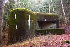 stary bunkra wojskowego Fotografia Royalty Free
