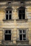 Stary burnt dom Zdjęcie Stock