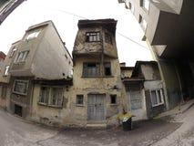Stary Bursa dom obraz royalty free