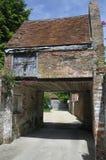 Stary ceglany dom Zdjęcie Stock