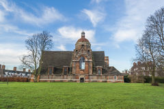 Stary ceglany kościół Fotografia Stock