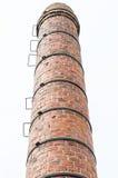 Stary ceglany komin obrazy stock