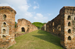 Stary ceglany pałac Fotografia Stock