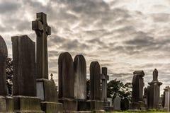 Stary cemetry w Stirling, Szkocja obrazy stock