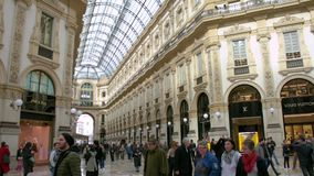 Stary centrum handlowe, Galleria Vittorio Emanuele II zdjęcie wideo